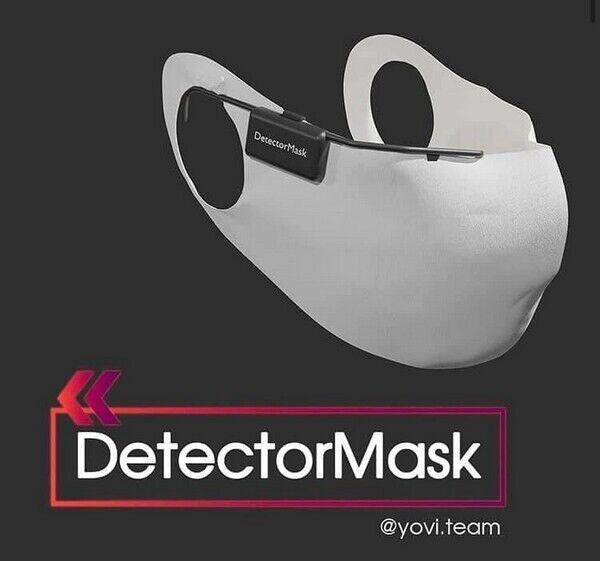 Розумна маска, розроблена українськими школярами