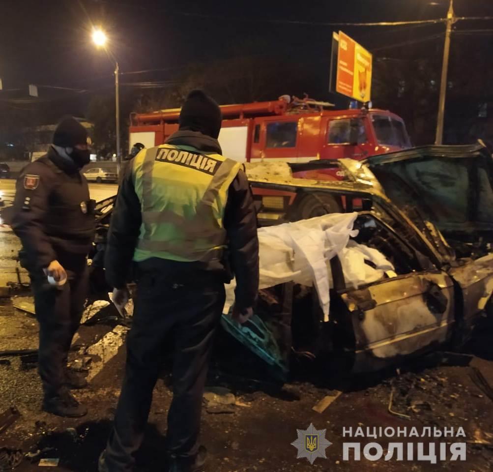 В Одессе в ДТП погибли 2 человека