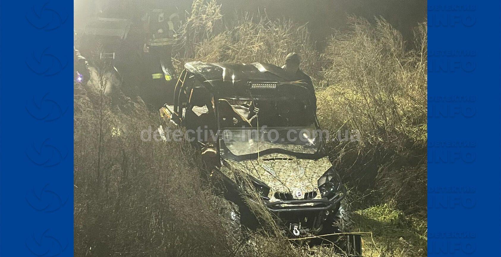 Авария произошла возле Новоалександровки.