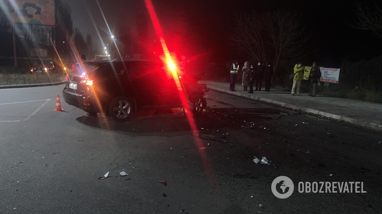 Авто не розминулися на перехресті.