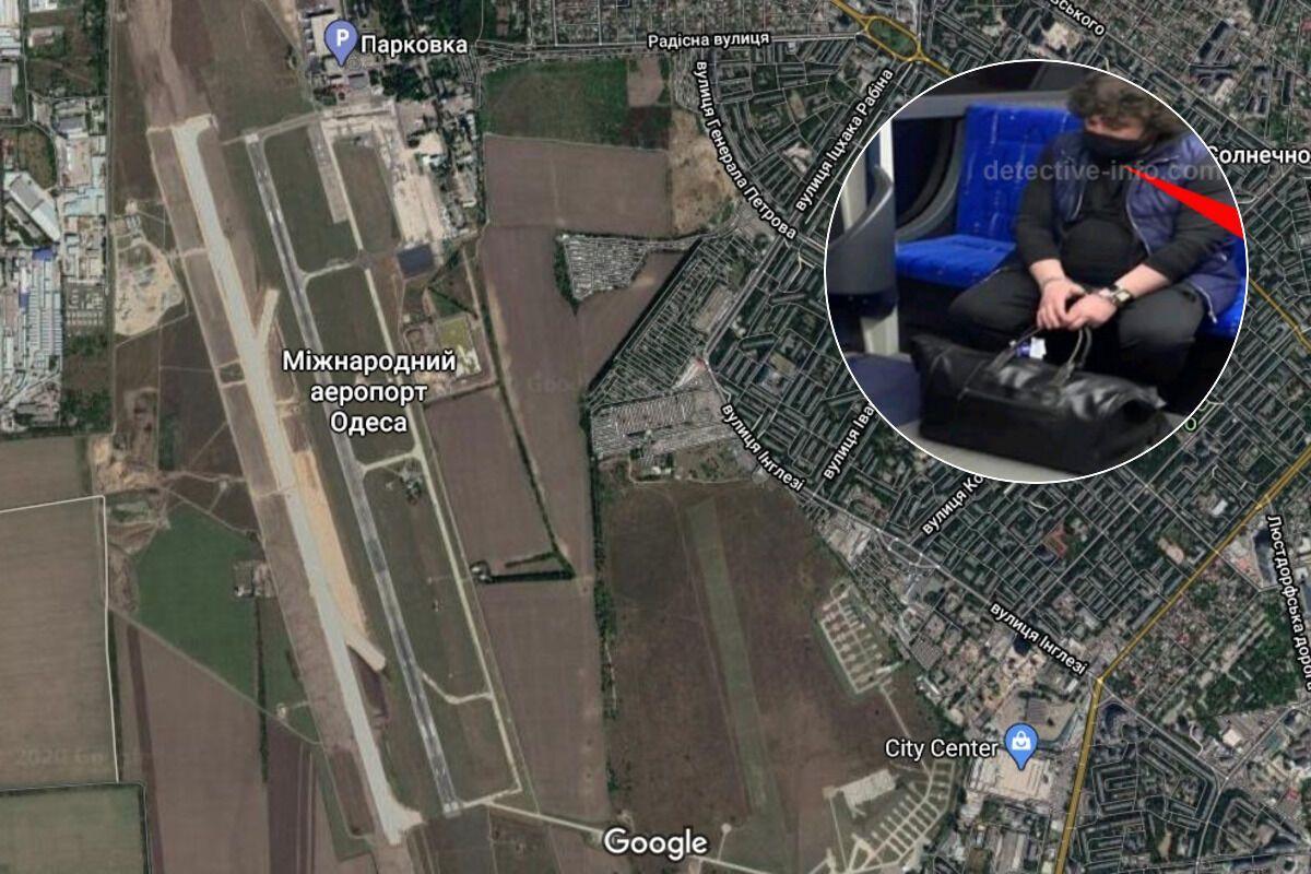 Міндія Горадзе провів в аеропорту три дні