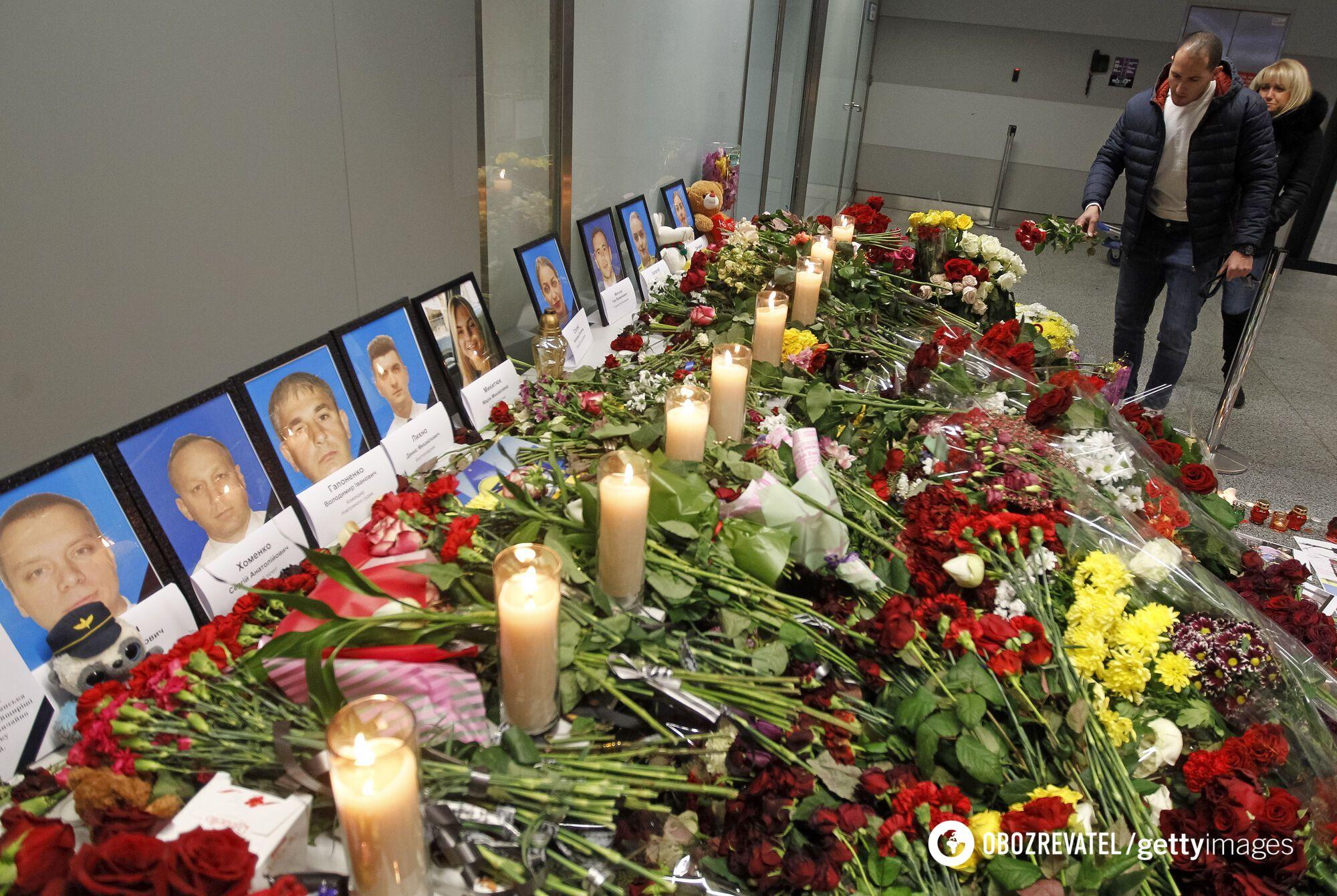 Украинский самолет авиакомпании МАУ был сбит 8 января 2020 года