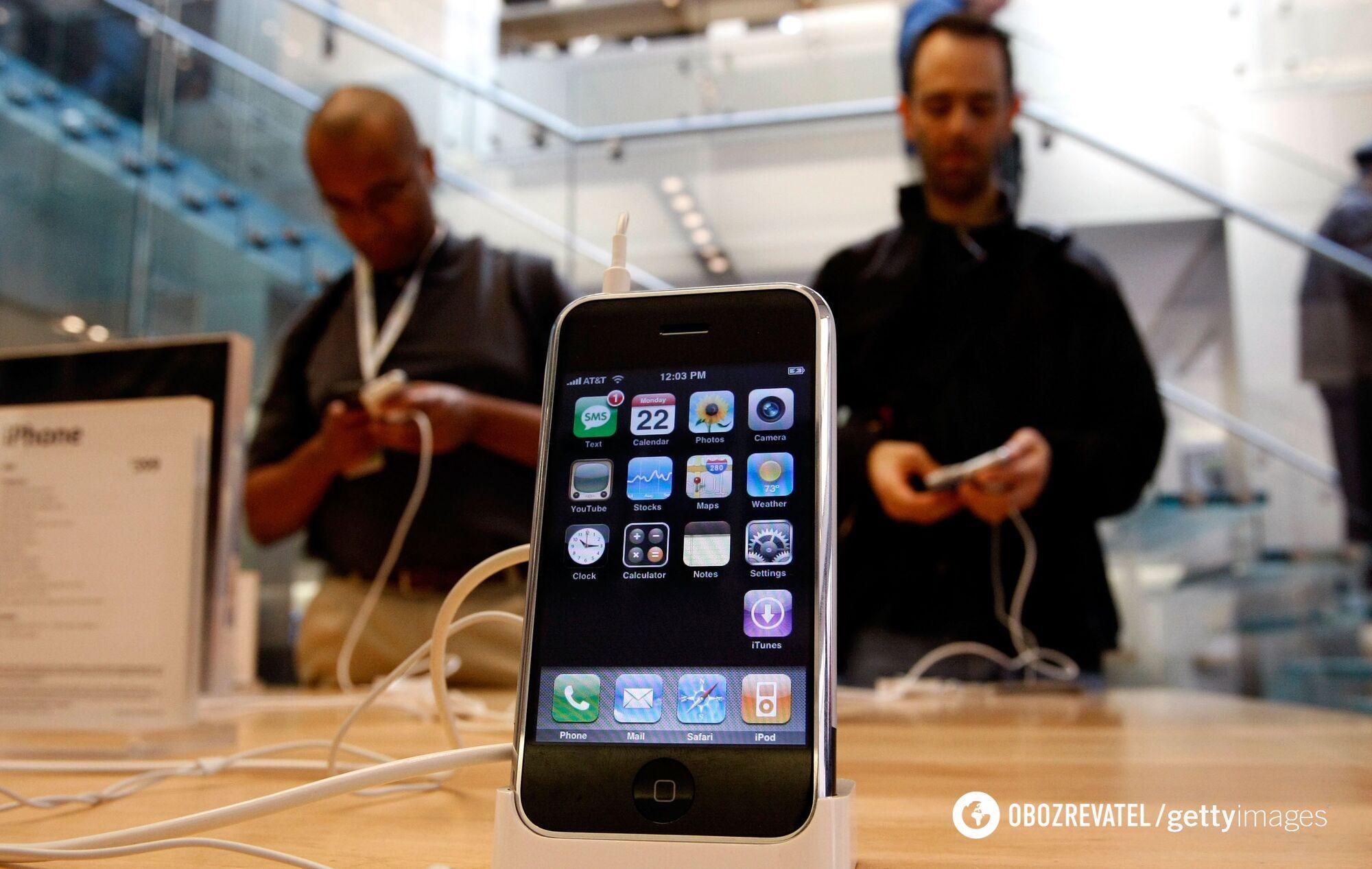 iPhone першого покоління