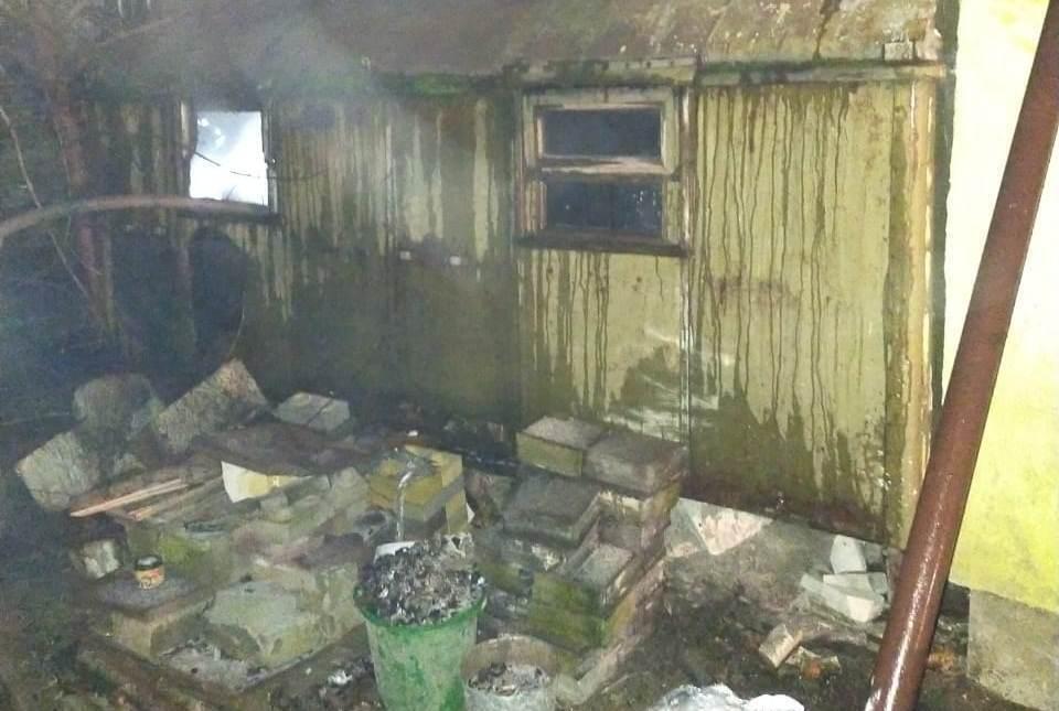Під час гасіння пожежі рятувальники виявили тіло чоловіка.