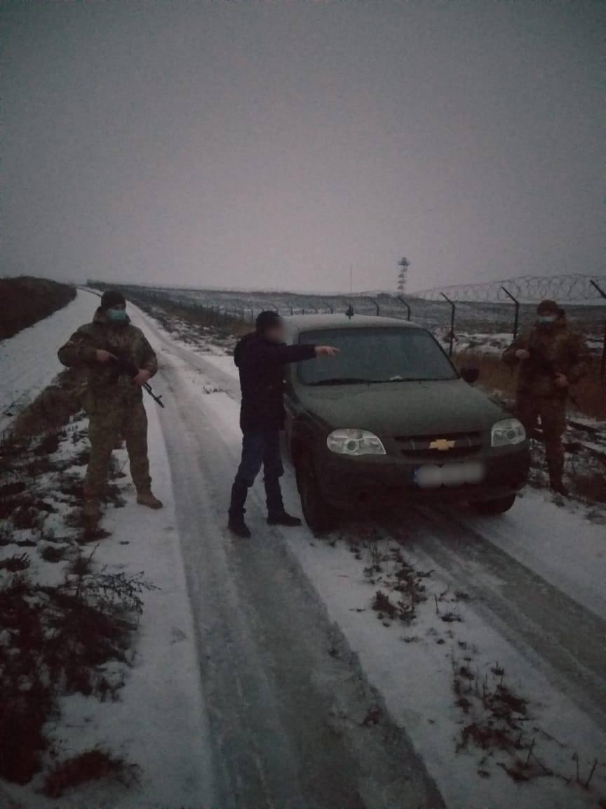 Українські прикордонники затримали росіянина.