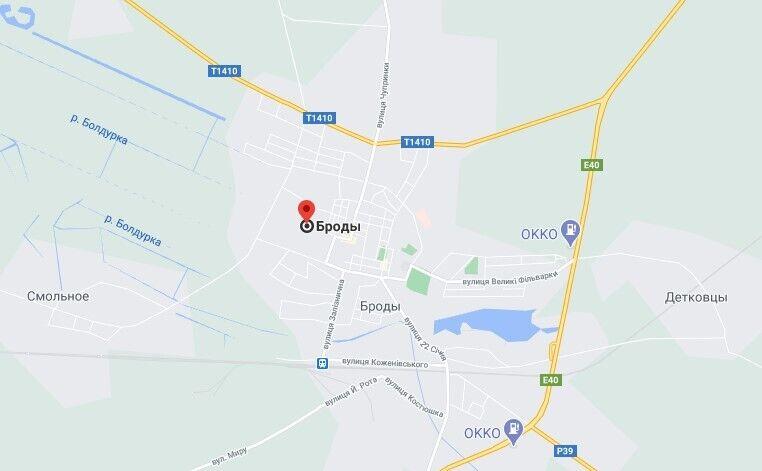 Инцидент произошел на улице Замковой