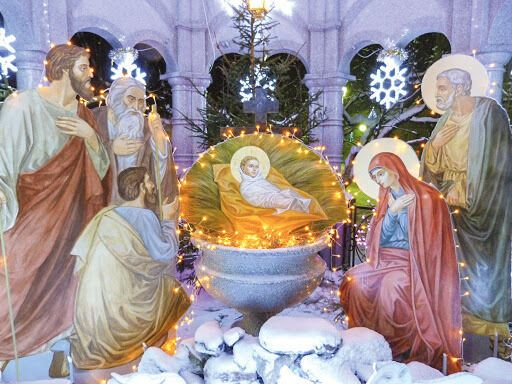 Святки – это 12-дневный период от Рождества до Крещения