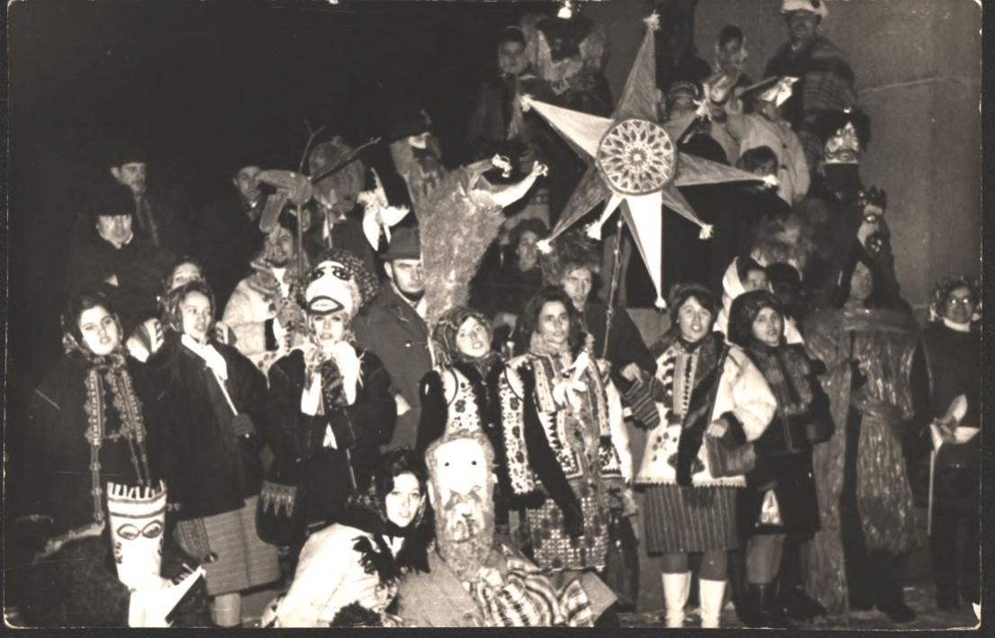 Рождественский вертеп во Львове 1972 года