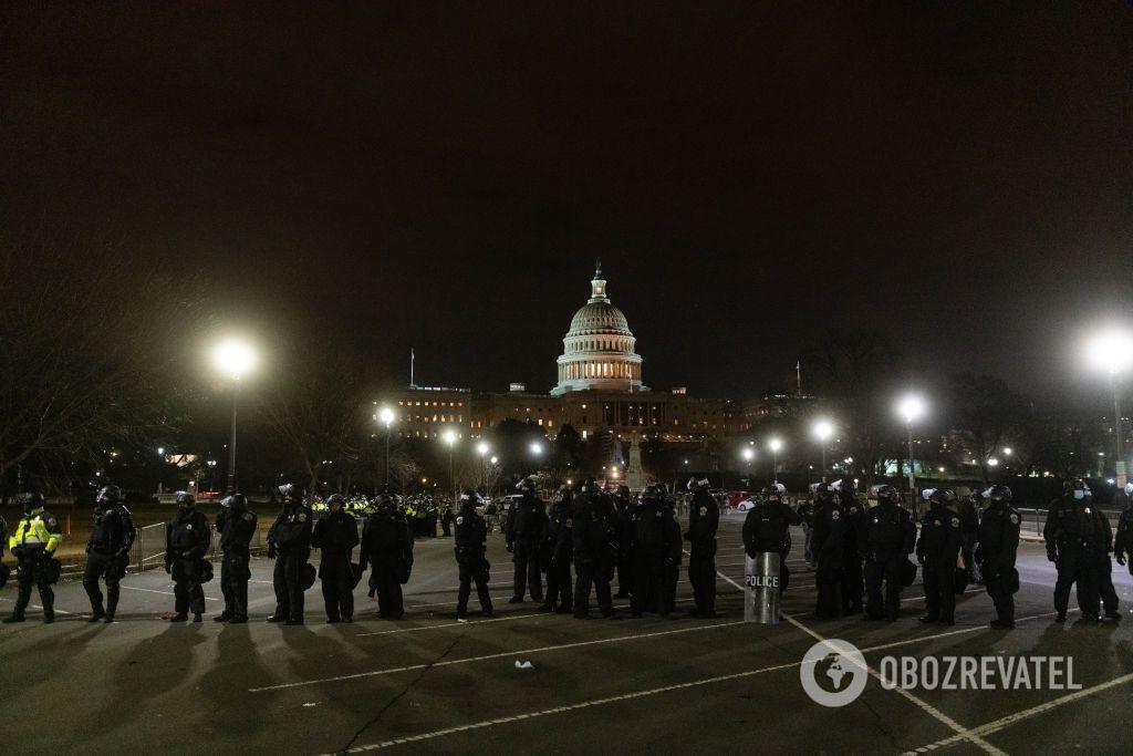 Полиция охраны вернула ситуацию под свой контроль