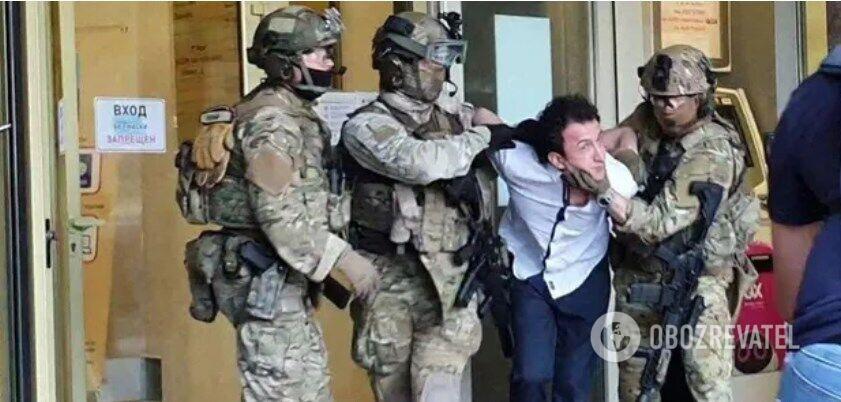 Затримання Сухроба Карімова в Києві