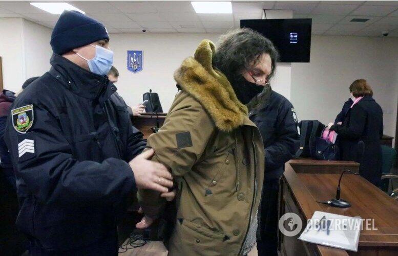 Олександр Ктиторчук у залі суду