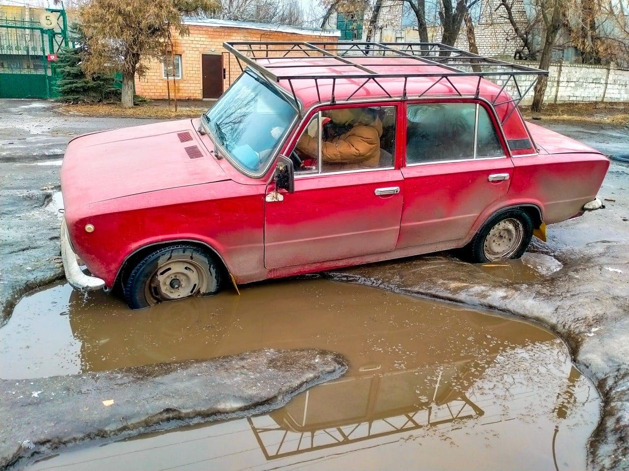 """Качество дорог в """"ЛНР"""" также высмеяли пользователи сети"""