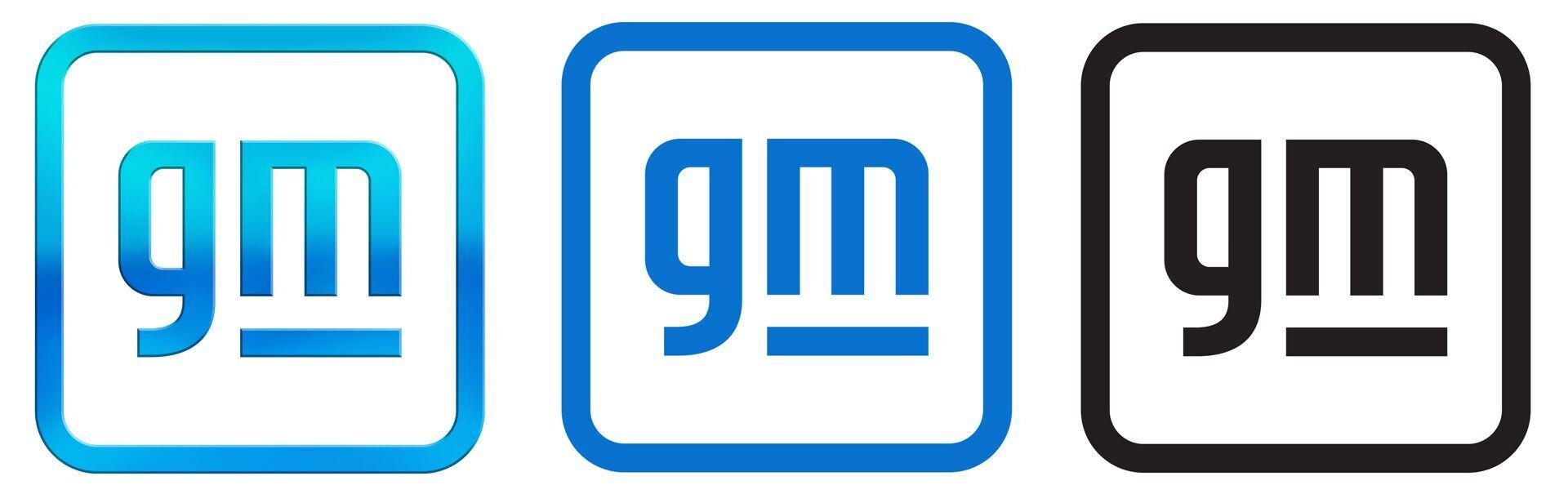 Варіанти нового фірмового логотипу концерну у кольоровому, монохромному та чорно-білому варіантах