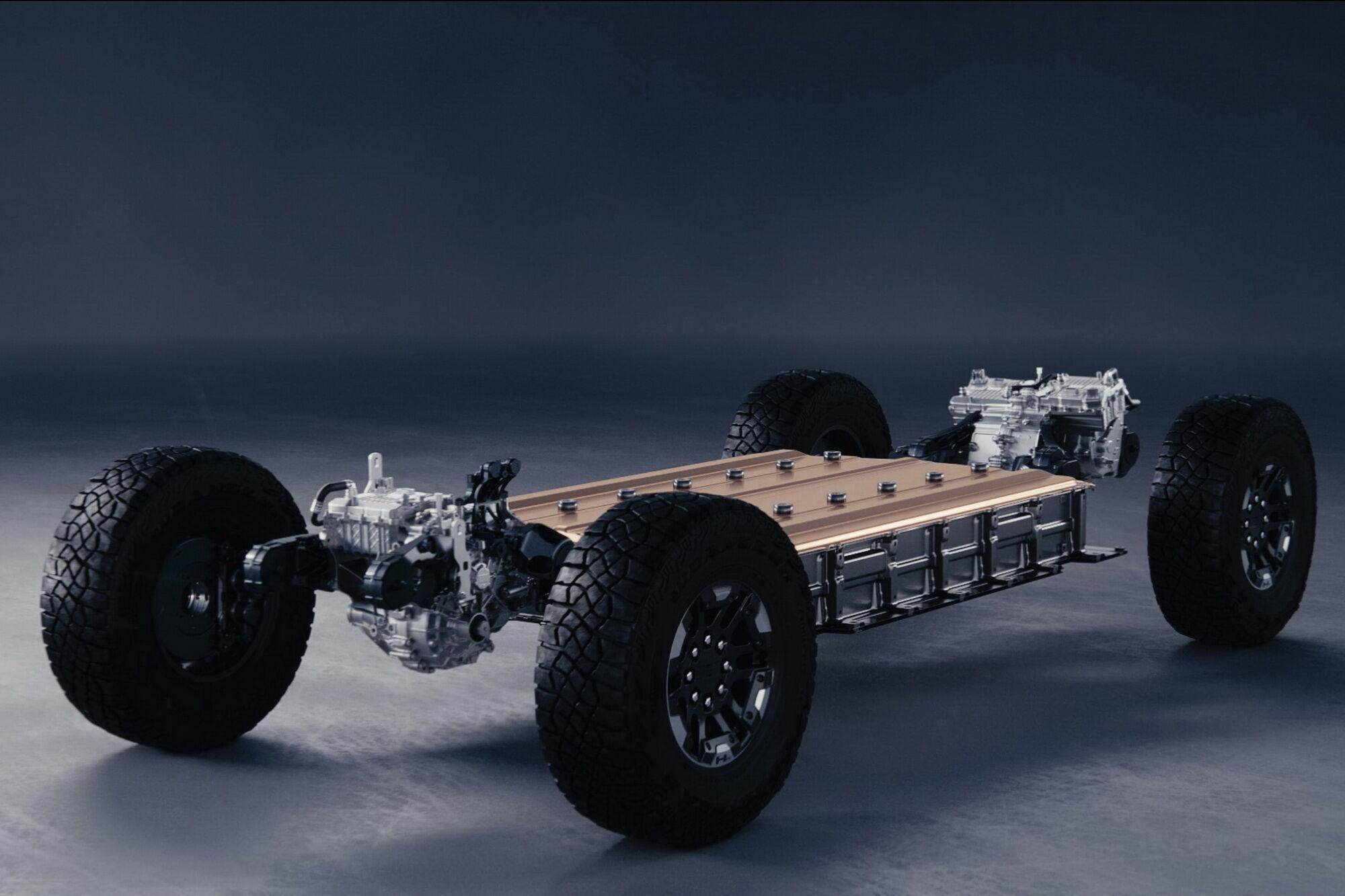 В основе всех будущих электромобилей концерна GM будет модульная платформа Ultium