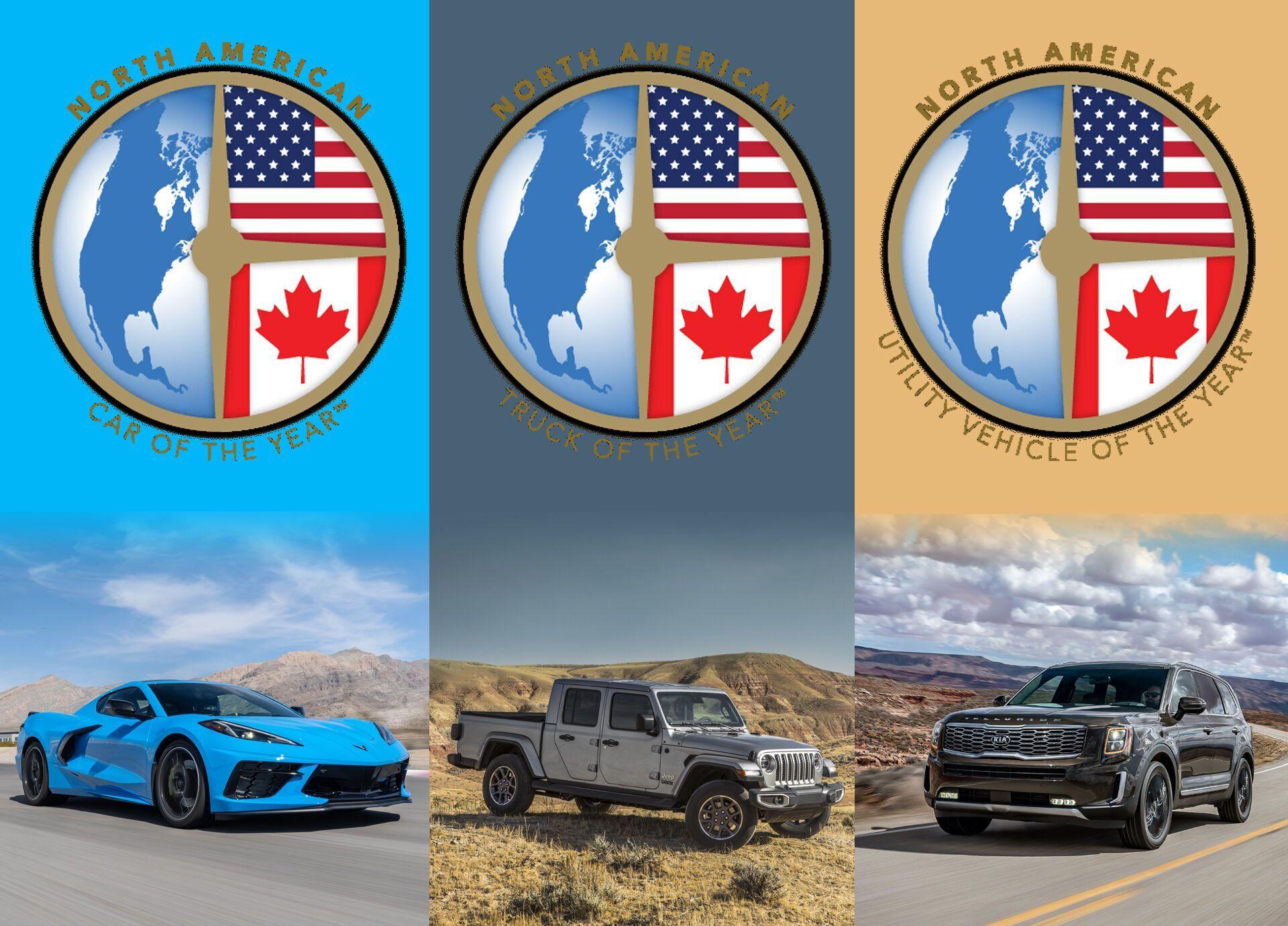 У 2020 році переможцями в номінаціях стали Chevrolet Corvette, Kia Telluride та Jeep Gladiator