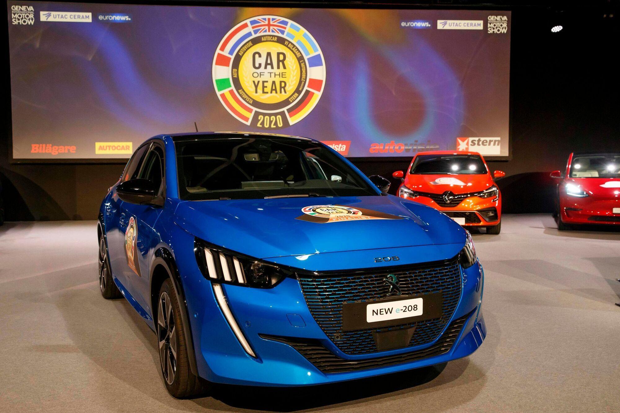В прошлом году награды конкурса был удостоен компактный французский хэтчбек Peugeot 208
