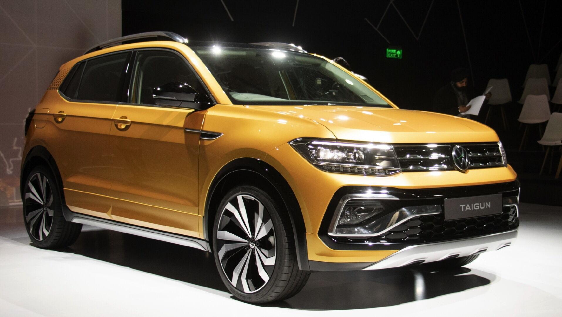 Volkswagen Taigun станет вторым кроссовером после Skoda Kushaq, который будет использовать платформу MQB A0 IN