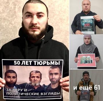 В Крыму продолжается масштабный флешмоб в поддержку задержанных в июне 2019 года политзаключённых