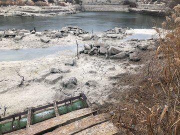 В Крыму практически высохло Инкерманское озеро