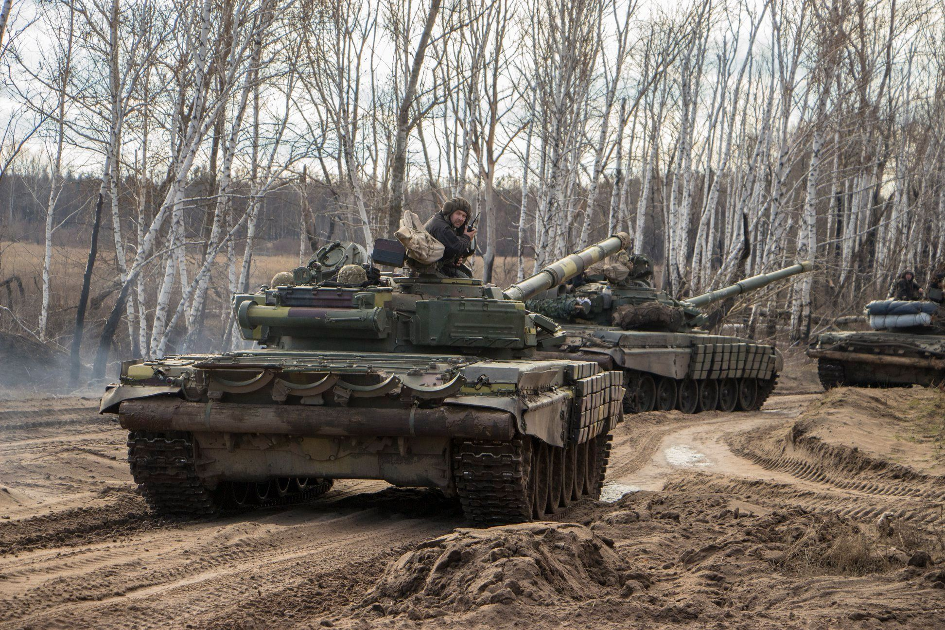 Перевірялася злагодженість танкового екіпажу