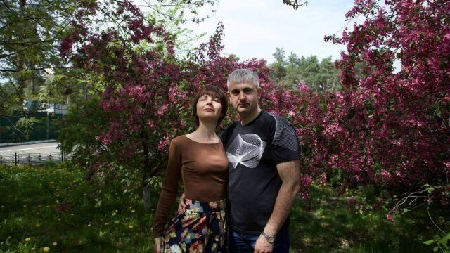 Володимир і Катерина Гапоненко.