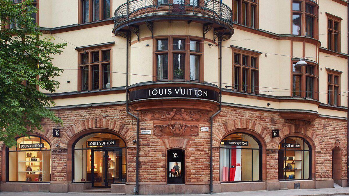 Магазини бренду Louis Vuitton.