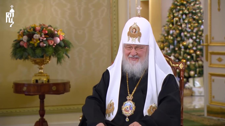 Патріарх Кирило на інтерв'ю