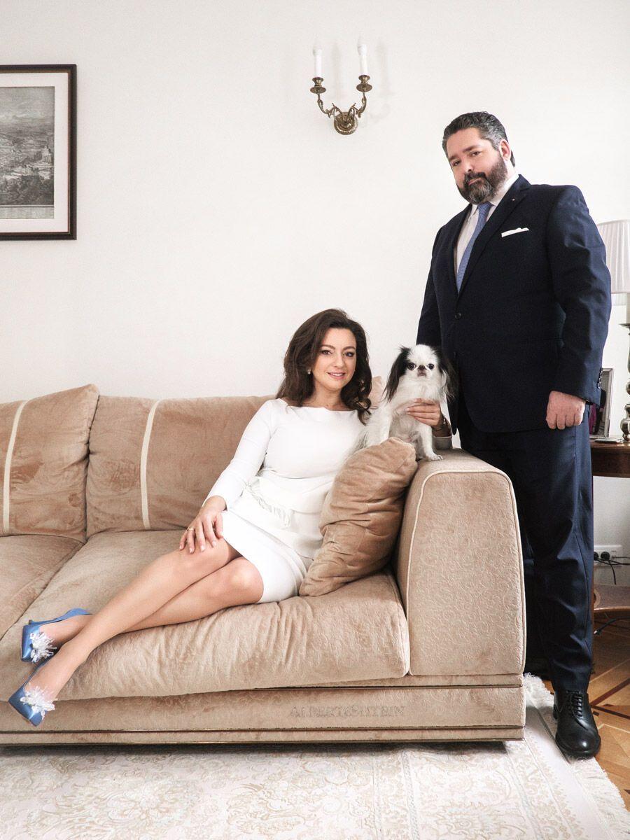 39-річна Ребекка-Вікторія Беттаріні та 40-річний Георгій Романов