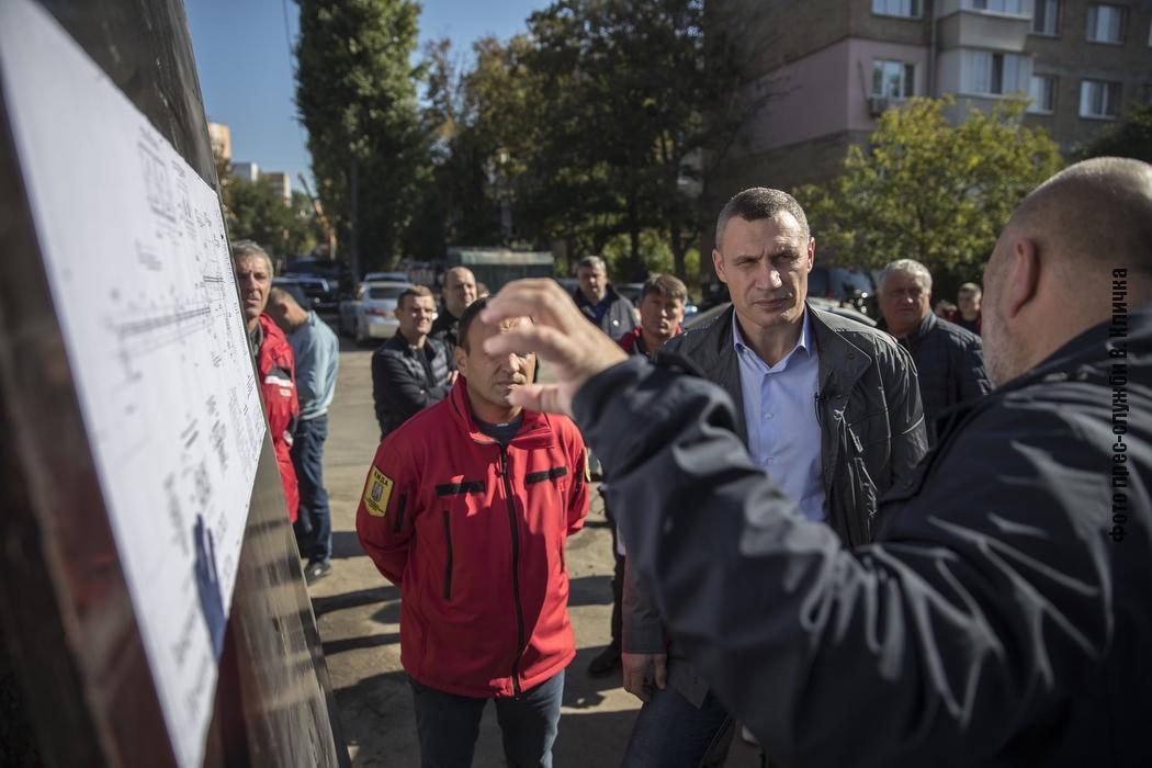 Кличко повідомив про заміну трубопроводів у Києві