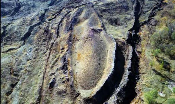 Место на горе Тендюрек