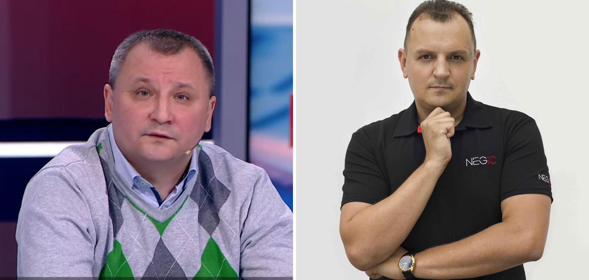 Сергей Кравченко и Андрей Александрин