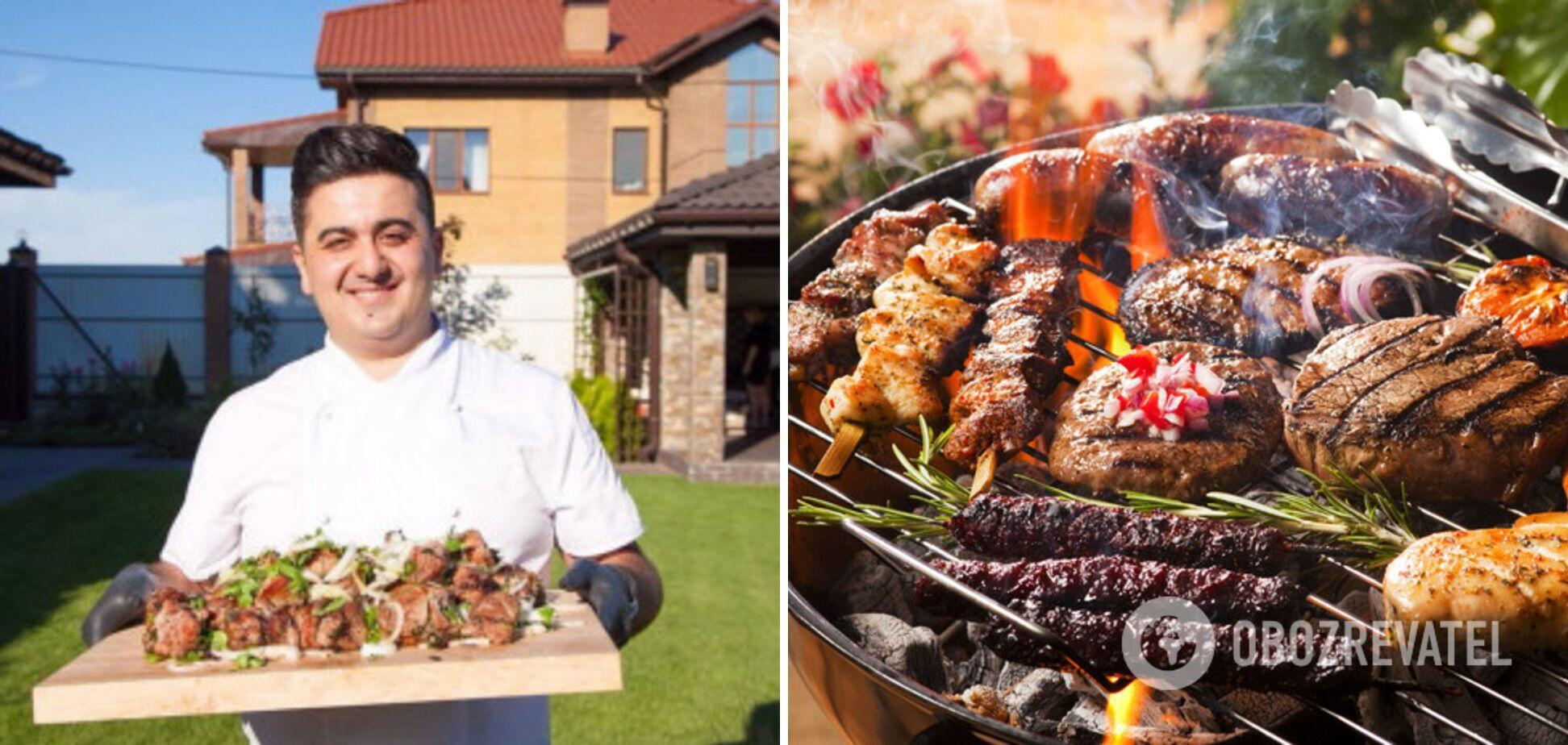 Алік Мкртчян – професіонал з приготування м'яса