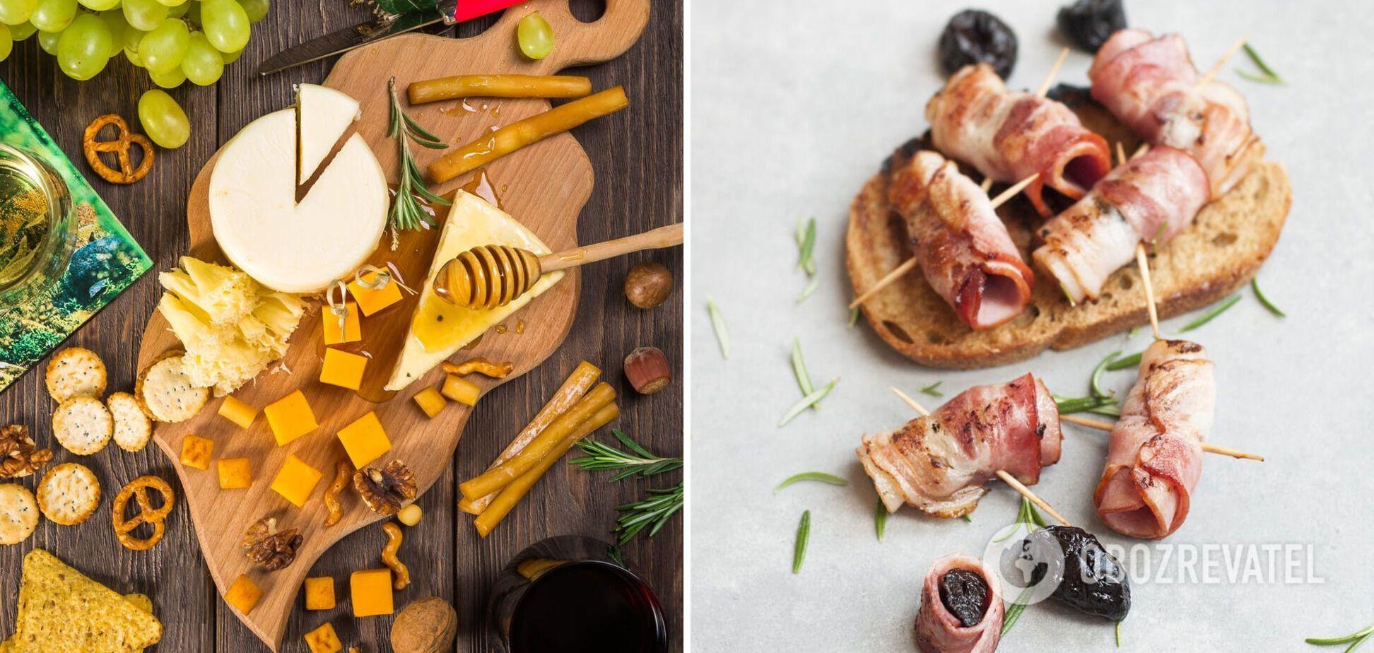 Смачна закуска – м'ясні рулети з сиром