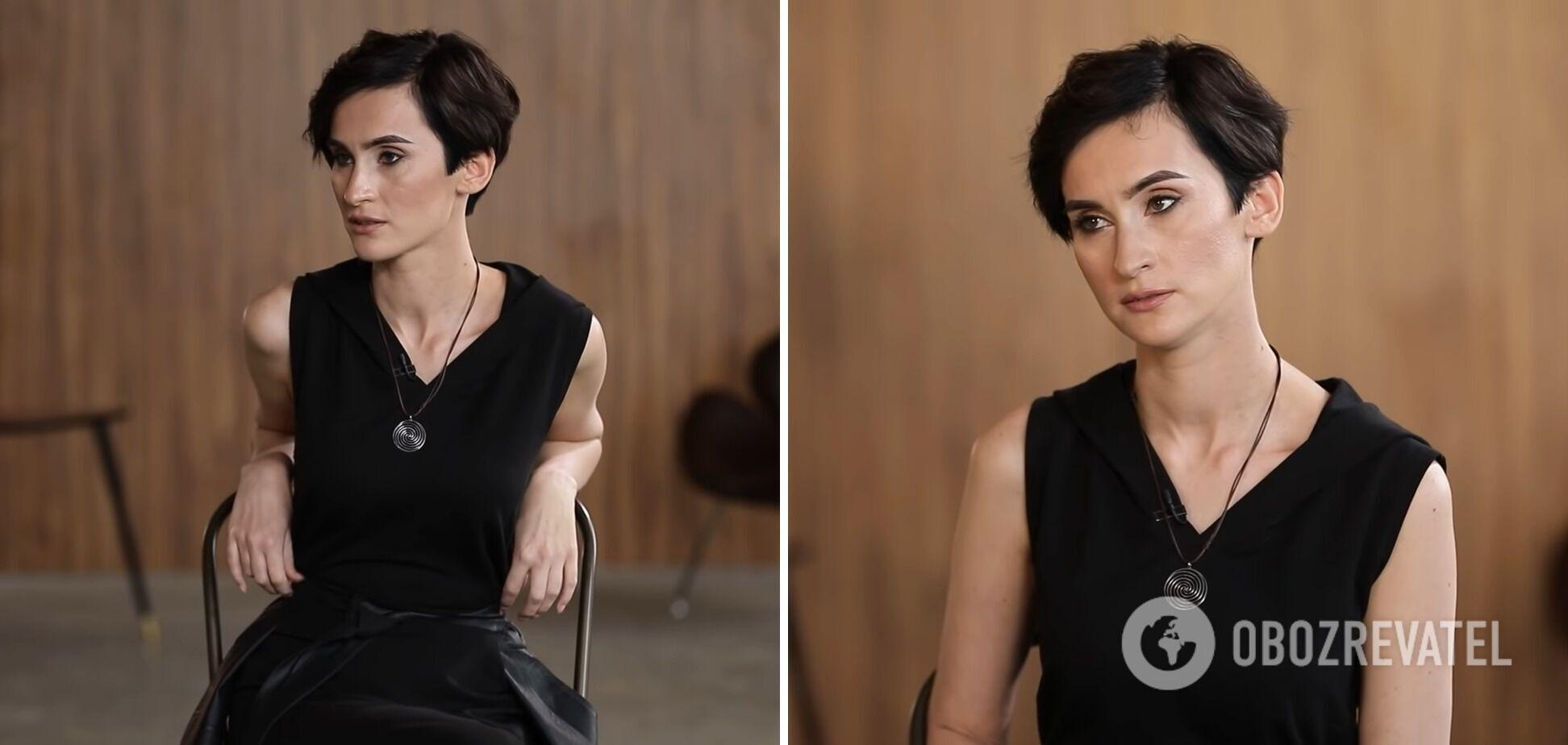 Катерина Павленко на інтерв'ю