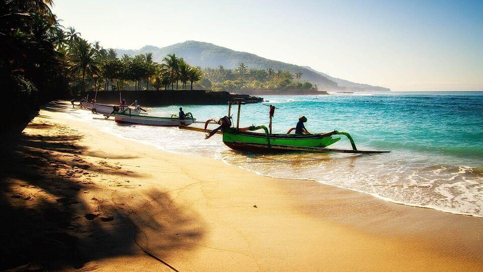 Пляж на острові Балі.