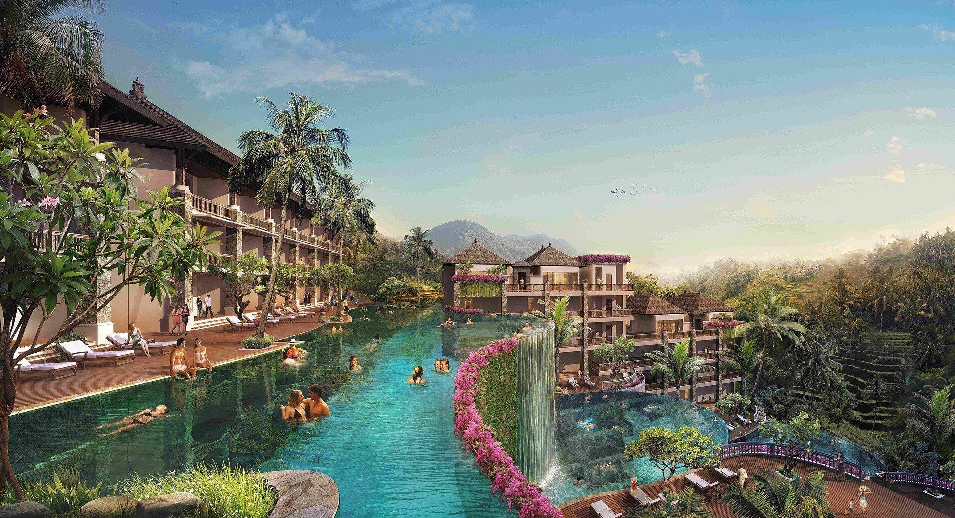 П'ятизірковий готель на острові Балі.