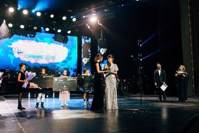 Наталя Кидалова стала переможницею Global Teacher Prize Ukraine 2019.