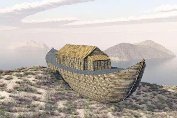 Ковчег Ноя, иллюстрация
