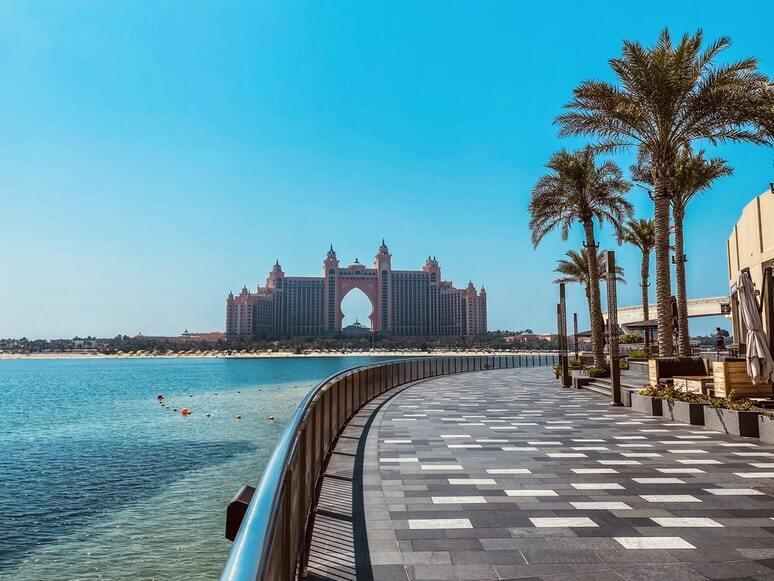 Отдых в Объединенных Арабских Эмиратах.