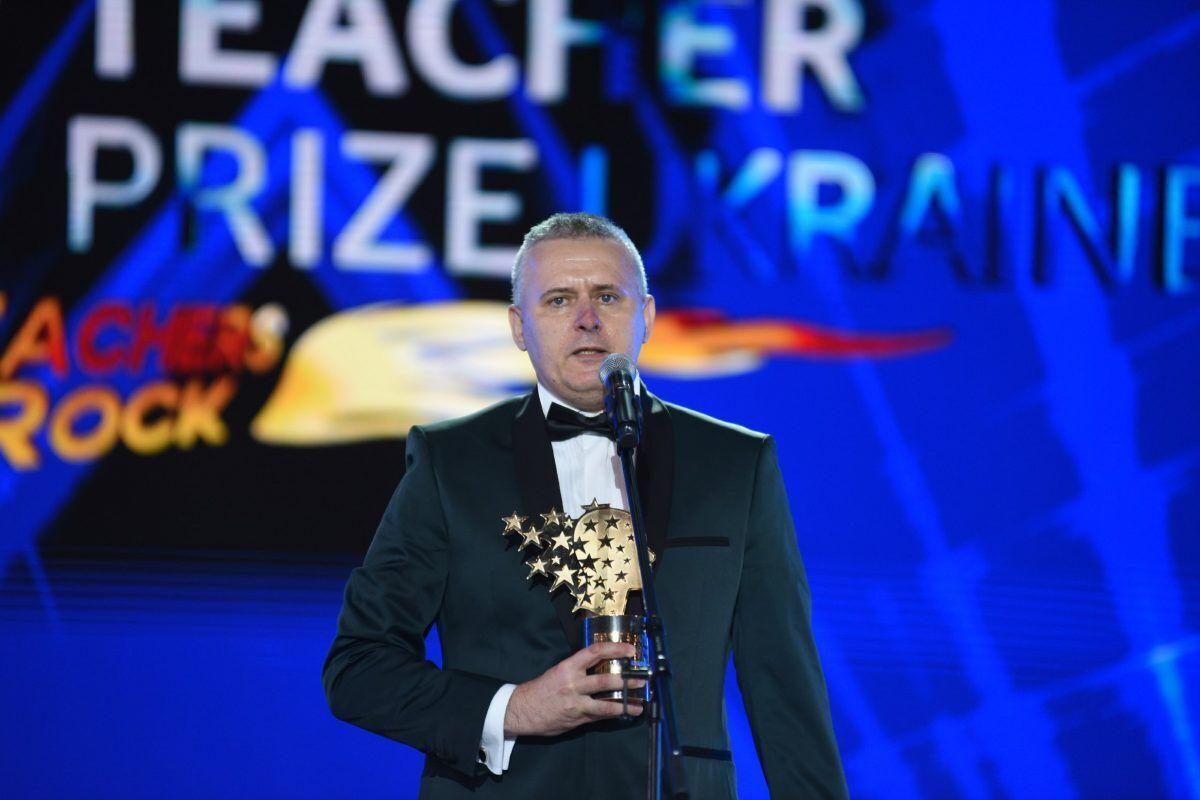 Василь Дяків - переможець Global Teacher Prize Ukraine 2020.