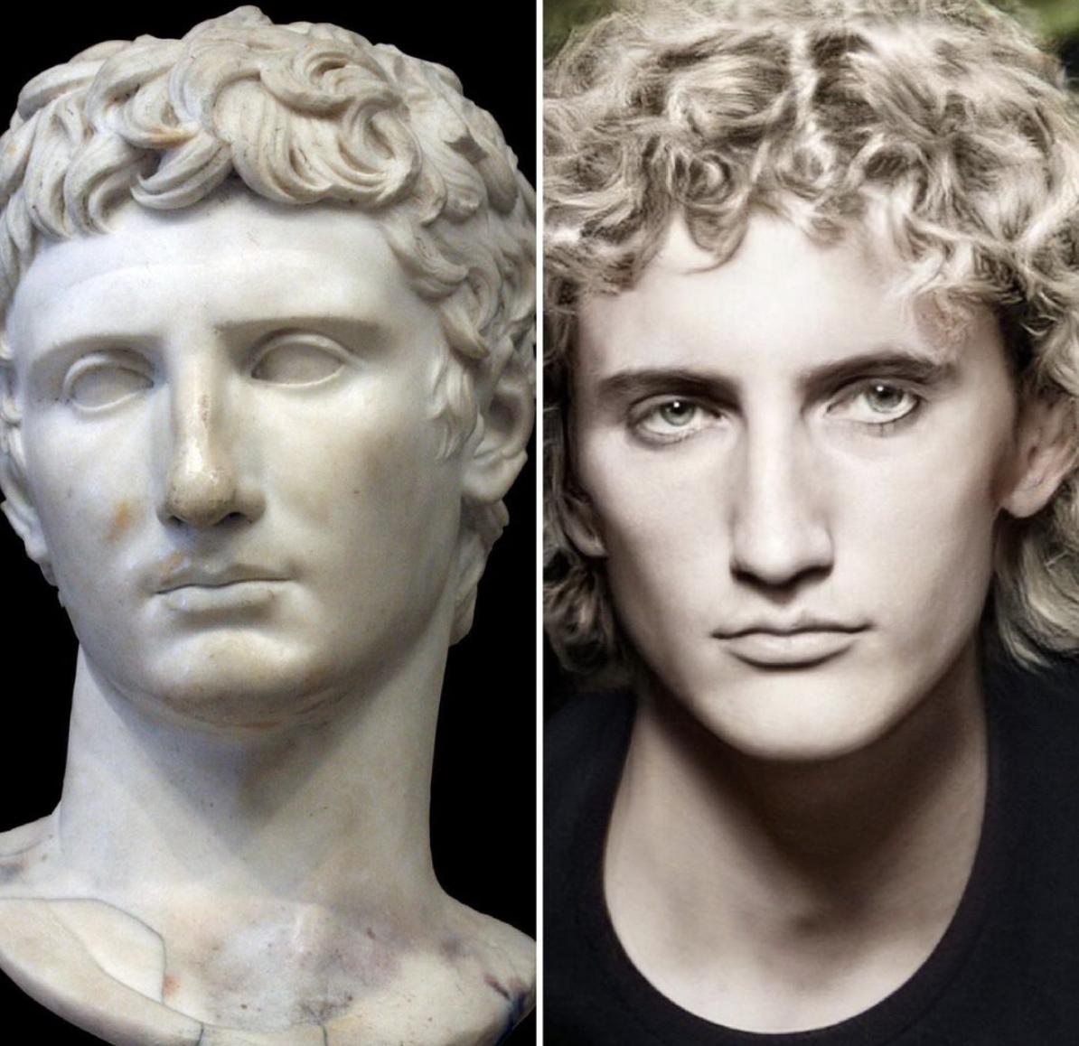 Римський імператор Октавіан Август
