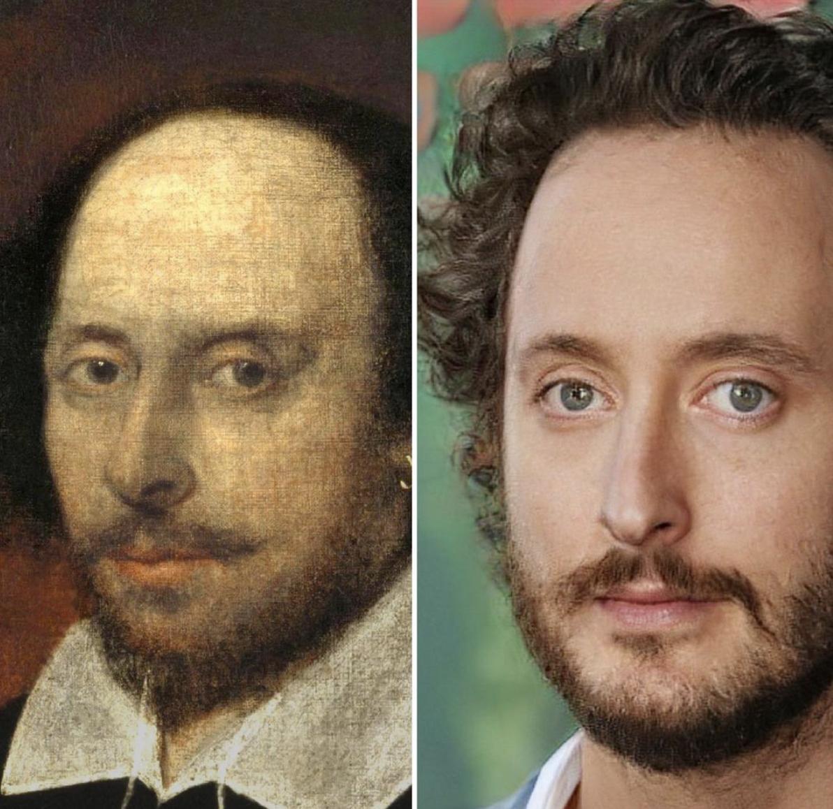 Англійськи письменник Вільям Шекспір.