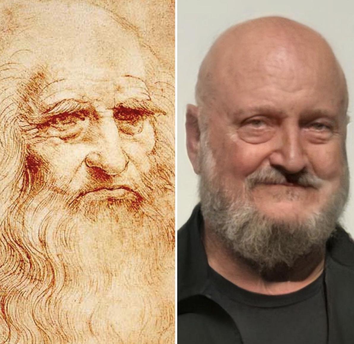 Італійський художник Леонардо да Вінчі.