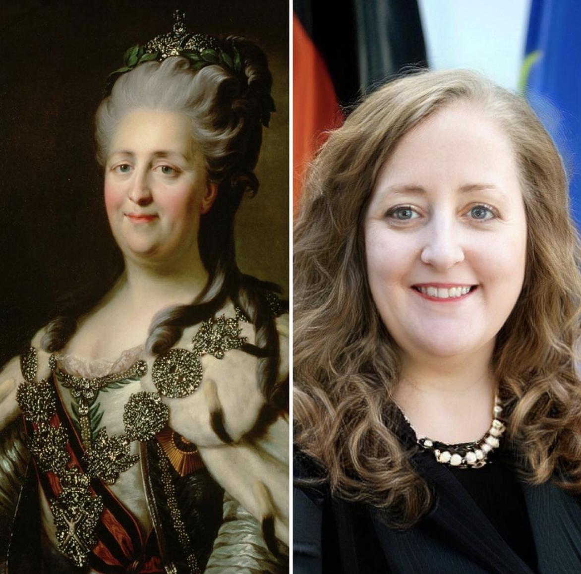 Правителька Російської імперії Катерина II.