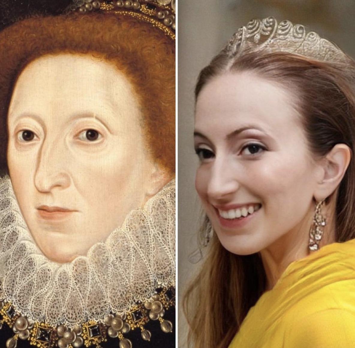 Королева Великобританії Єлизавета I.