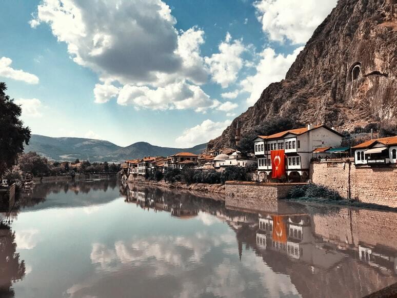 Море в Турции.