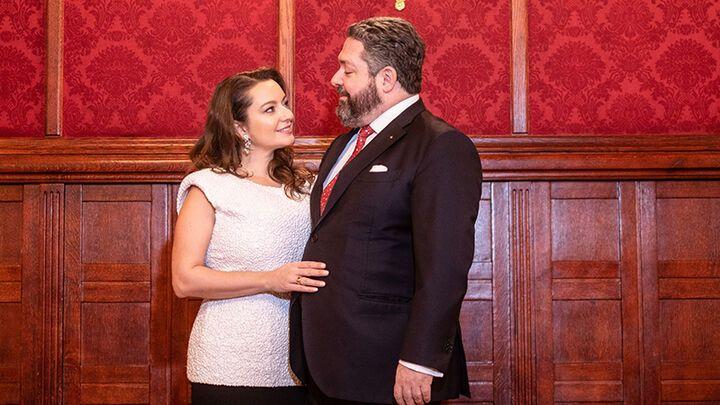 Одружилися закохані раніше у вересні в Москві