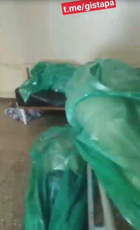 Видео якобы с больницы в Донецке