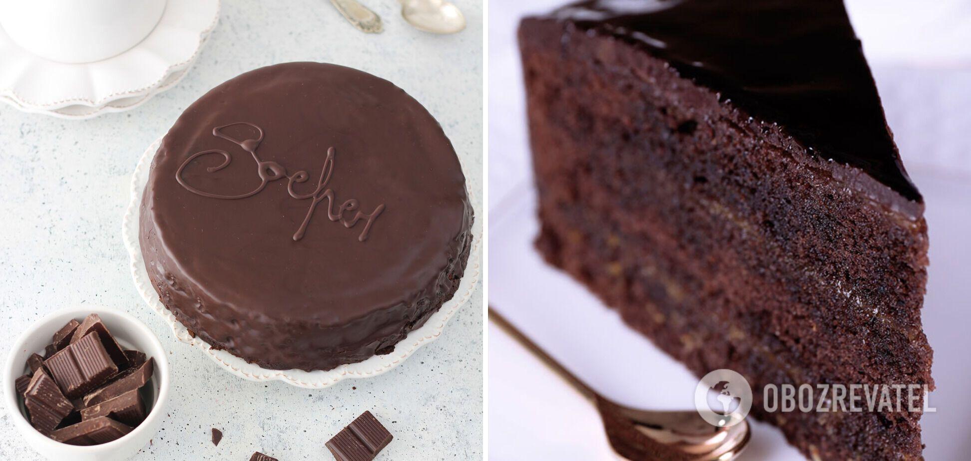 "Вкусный торт ""Захер"""