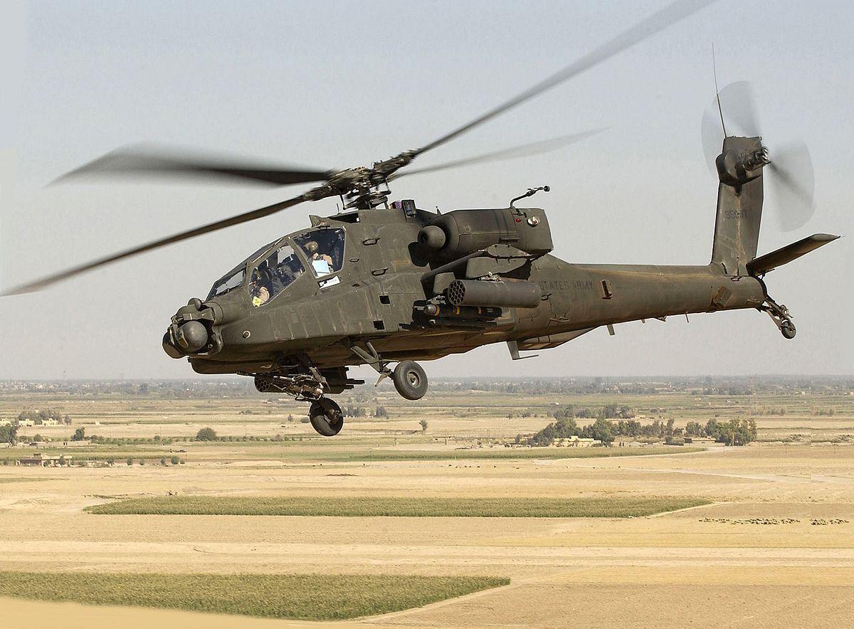 McDonnell Douglas AH-64 Apache.
